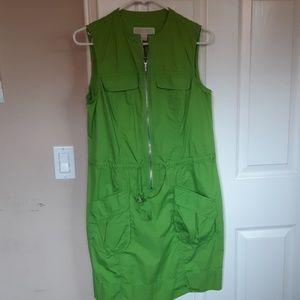 Michael Michael Kors Front Zip Dress